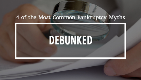 4 Common Myths: The Truth About Declaring Personal Bankruptcy in Ontario