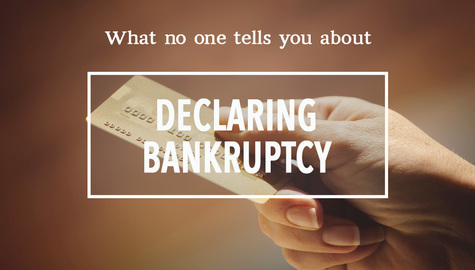 What No One Tells You About Declaring Bankruptcy