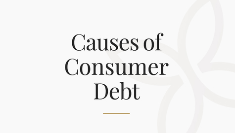 Causes of Consumer Debt